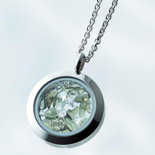 『モルダバイトペンダント』ハーキマーダイヤモンド入り アクセサリー 小物 ダイヤモンド 天然石 モルダバイト 最強 パワーストーン 通販 販売