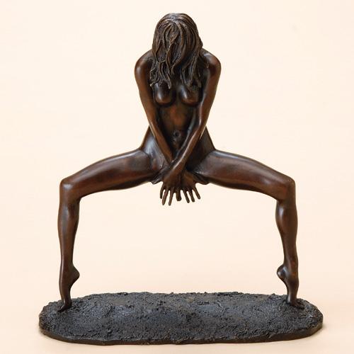 林良慶 ブロンズ『ティップトゥー』【ブロンズ・人形・女性】【通販・販売】