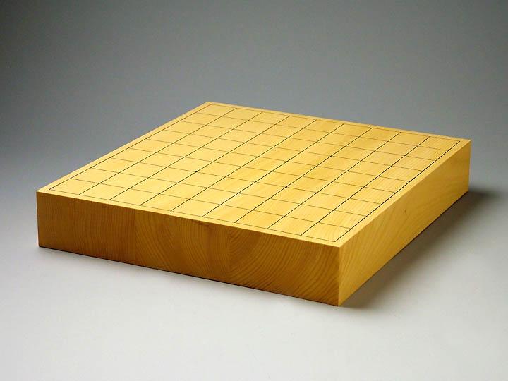 国産榧卓上二寸盤(上製)【駒台付】