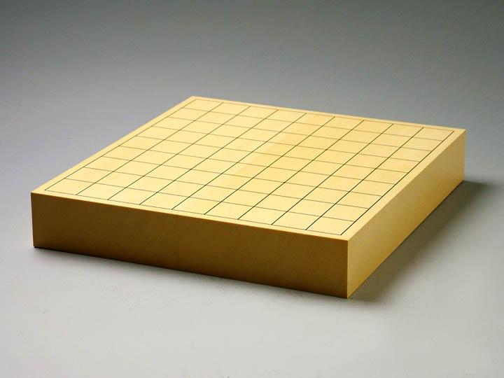 ヒバ(米ヒバ)卓上二寸盤【駒台付】