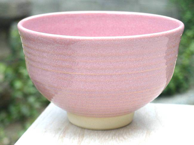 Shoindo Shimizu Yaki Tea Teacup Pink Vortex Rakuten