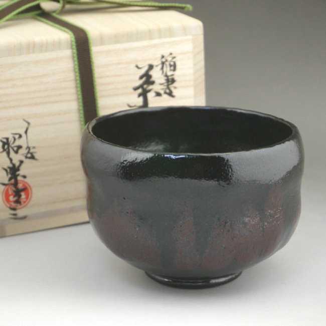 京焼 清水焼 のんこう七種 稲妻 抹茶茶碗 昭楽