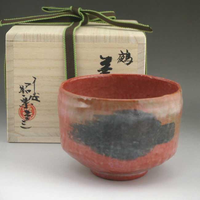 京焼 清水焼 のんこう七種 鵺 抹茶茶碗 昭楽