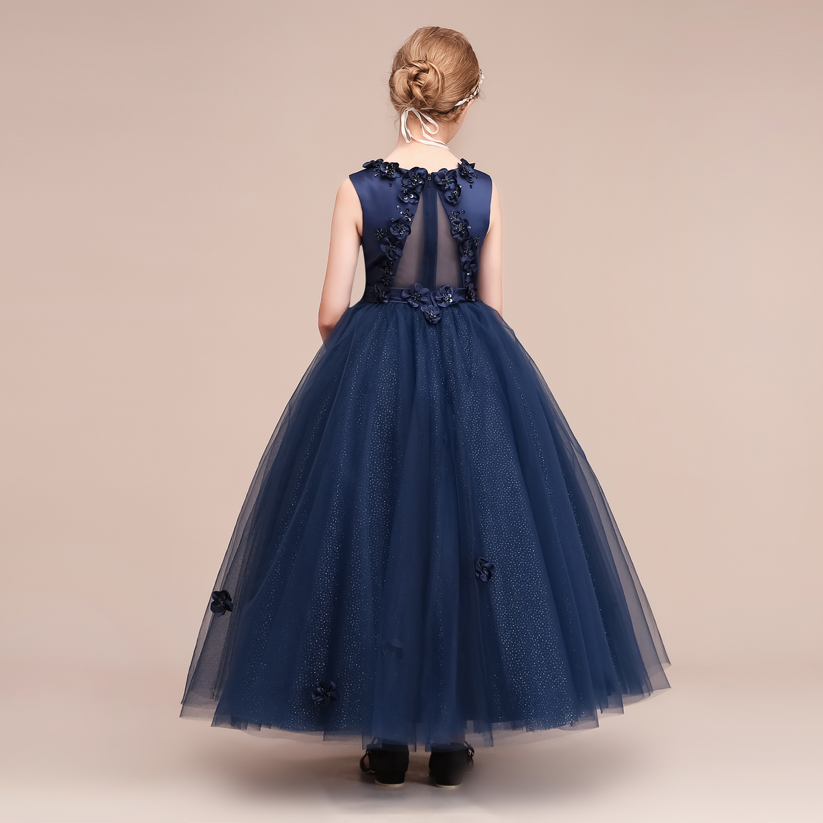女の子ドレス 子供ドレス 80 90 100 110 120 130 140 150 160 チュール ロングドレス 結婚式 キPn0w8Ok