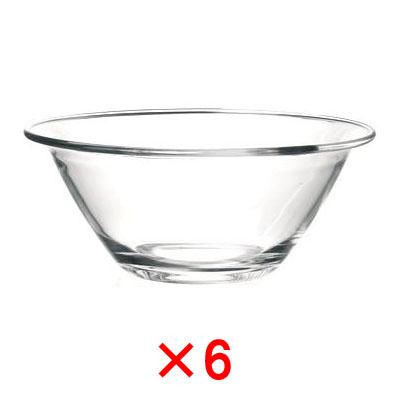 Bormioli Rocco (ボルミオリロッコ) ミスター・シェフボール 30cm (6個販売) /ガラス 食器 透明 キッチン用品 ボウル 下ごしらえ 調理用具 丈夫 頑丈 全面物理強化 家庭用 業務用 定番 ロングセラー SSK09
