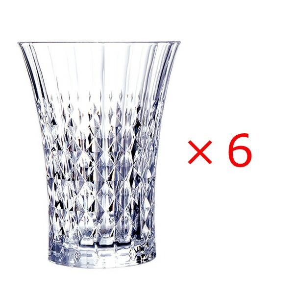 (6個販売) CRISTAL DARQUES(クリスタルダルク)レディダイヤモンド タンブラー 360エレガント 上品 煌びやか グラス タンブラー パーティー おもてなし 誕生日 御祝 結婚祝い ギフト プレゼント