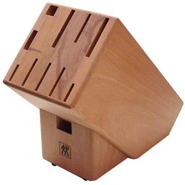 ヘンケルス ナイフブロック 木製 11穴