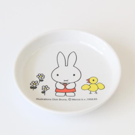 아드님 식기(멜라민) 미피 작은 접시