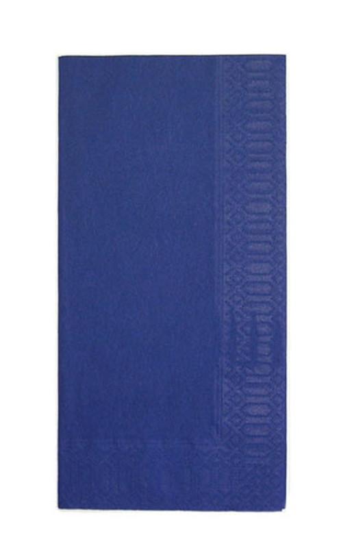 [TKG16-1402] カラーナプキン 8ッ折(2,000枚入) 45cm2Pディープブルー