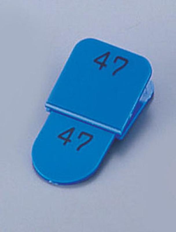 [TKG16-1873] 親子札(50ヶセット) KF969 1~50 ブルー