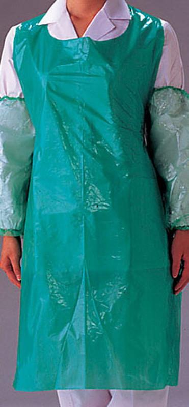 パル ポリエプロン(200枚×5ロール) OA301Gグリーン 7-1393-0805 エプロン(水周り用)