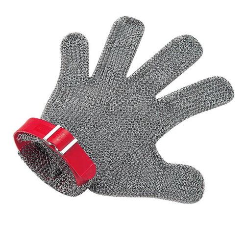 ニロフレックス メッシュ手袋5本指 LL5L-EF左手用(青) 7-1385-0905 手袋(耐切創)
