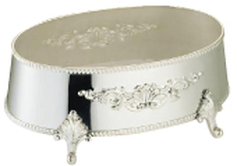 [TKG16-1567] 洋白3.8μ小判皿飾台 30インチ用 ※受注生産