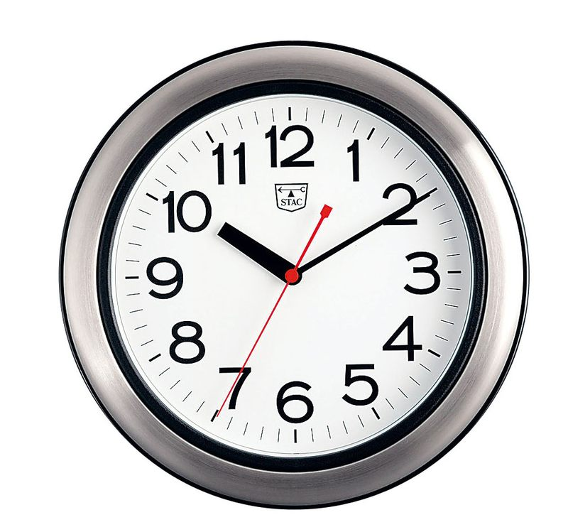 SPA&スチームサウナ用クロック SKS-280 7-2378-0101 時計(キッチン・バス用) (TKG17-2378)