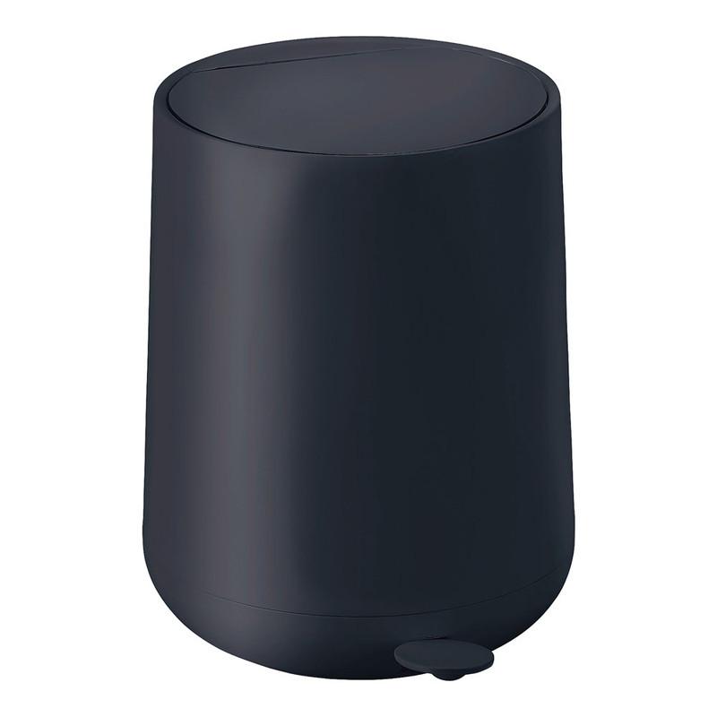 ZONE ゾーン ノバワン ペダルビン 352045ブラック 7-2359-0301 卓上ダストボックス (TKG17-2359)