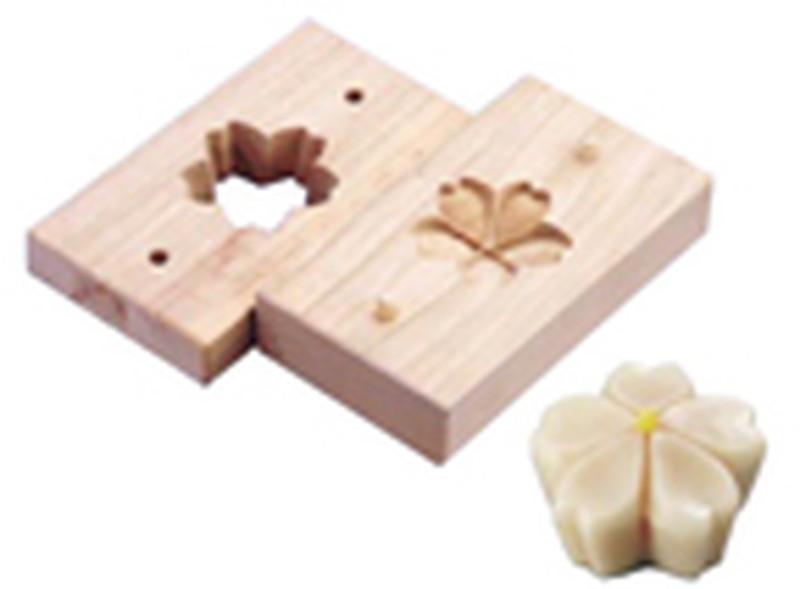 [TKG16-1042] 手彫物相型(上生菓子用)桜花