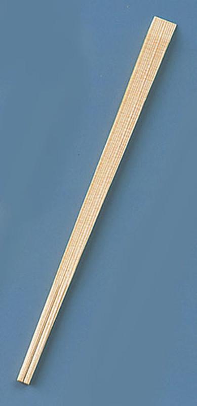 [TKG16-1397] 割箸 杉柾天削 24cm (1ケース5000膳入)