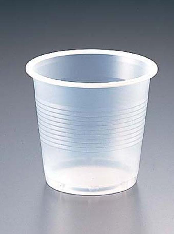 [TKG16-0869] プラスチックカップ(半透明) 5オンス(2500個入)