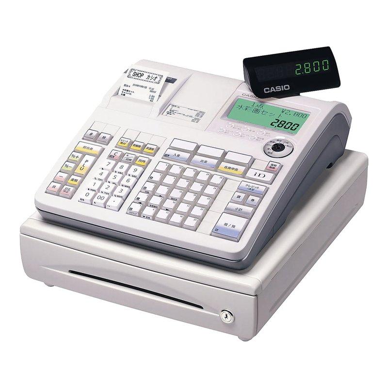 [TKG16-2377] カシオ レジスターTE-2800-25S (25部門)ホワイト