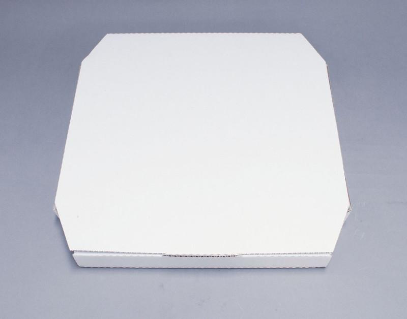 [TKG16-0854] ピザボックス 白(100枚入)  18711712インチ