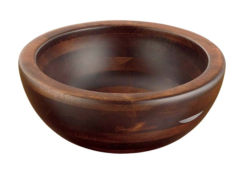 [TKG16-1504] 木製 惣菜くり鉢 深型 中44283