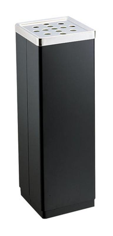 スモーキングスタンド YS-106B (黒) (TKG17-2492)