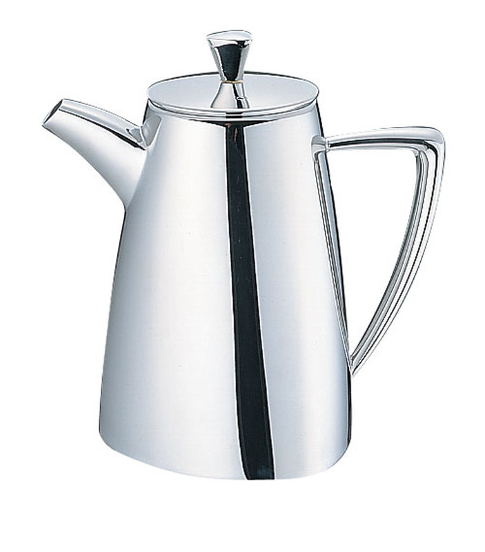 [TKG16-1749] UK18-8 トライアングルシリーズ  コーヒーポット 8~10人用