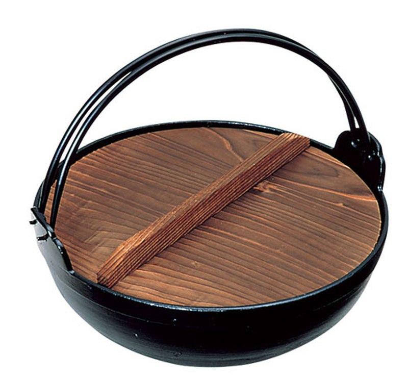 [TKG16-1946] アルミ 電磁用いろり鍋 21cm