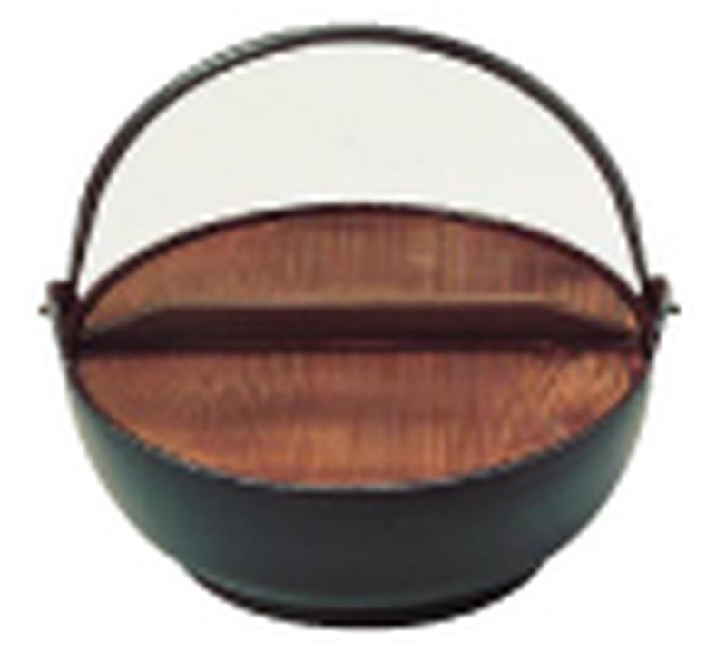 (S)電磁用 みやま鍋 30cm 7-1511-0706 田舎鍋 (TKG17-1511)