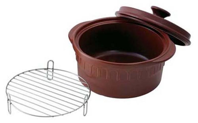 ニュートーセラム 両手鍋深型 26cm TSR-190AM-S(茶) 6-0072-0102 深型鍋, ヨロンチョウ:9a566b8c --- asc.ai