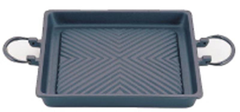 [TKG16-1968] アサヒ 鉄焼肉プレート 角型35cm