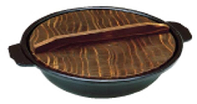 [TKG16-1927] アルミ電磁用寄せ鍋 30cm