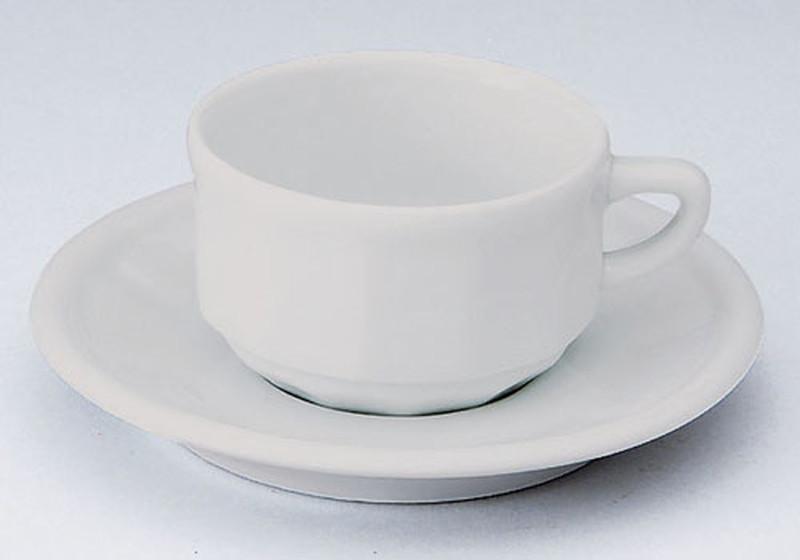 [TKG16-2122] フローラ モカカップ&ソーサー(6客入) PTFLMFLホワイト
