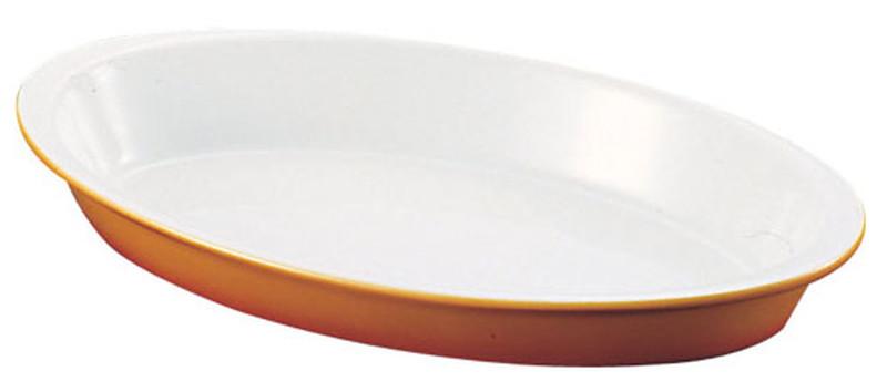 SCHONWALD シェーンバルド オーバルグラタン皿 茶 (ツバ付)1011-42B 7-2195-0305 洋食器 (TKG17-2195)