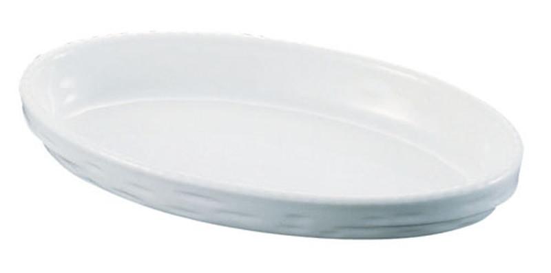 [TKG16-2083] シェーンバルド オーバルグラタン皿 白 3011-44W