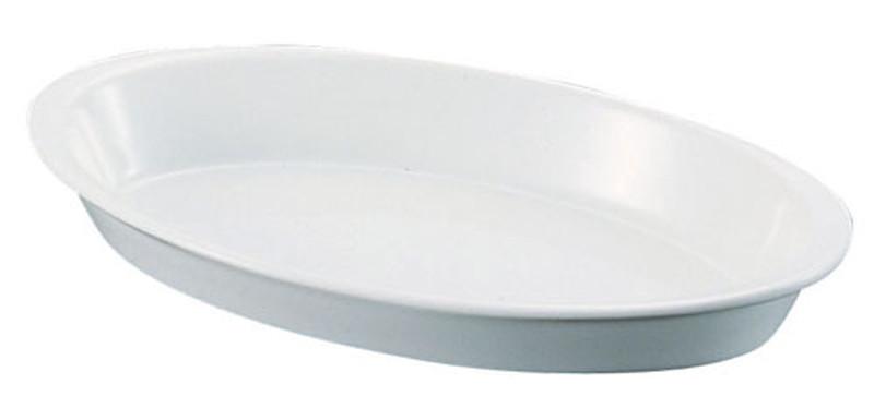 [TKG16-2083] シェーンバルド オーバルグラタン皿 白 (ツバ付)1011-42W