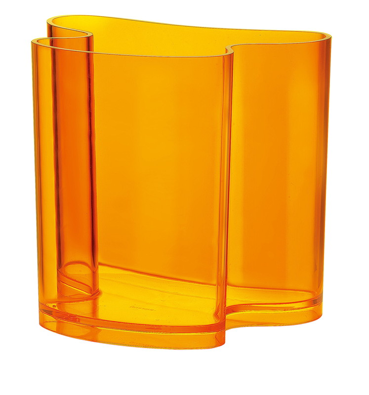 guzzini グッチーニ マガジンスタンド 2893.0145オレンジ 7-2503-0605 客室備品 (TKG17-2503)