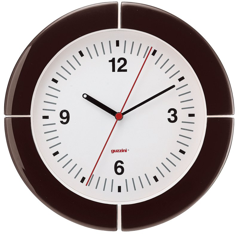 guzzini グッチーニ ウォールクロック 2895.0022グレー 7-2502-0802 掛時計 (TKG17-2502)