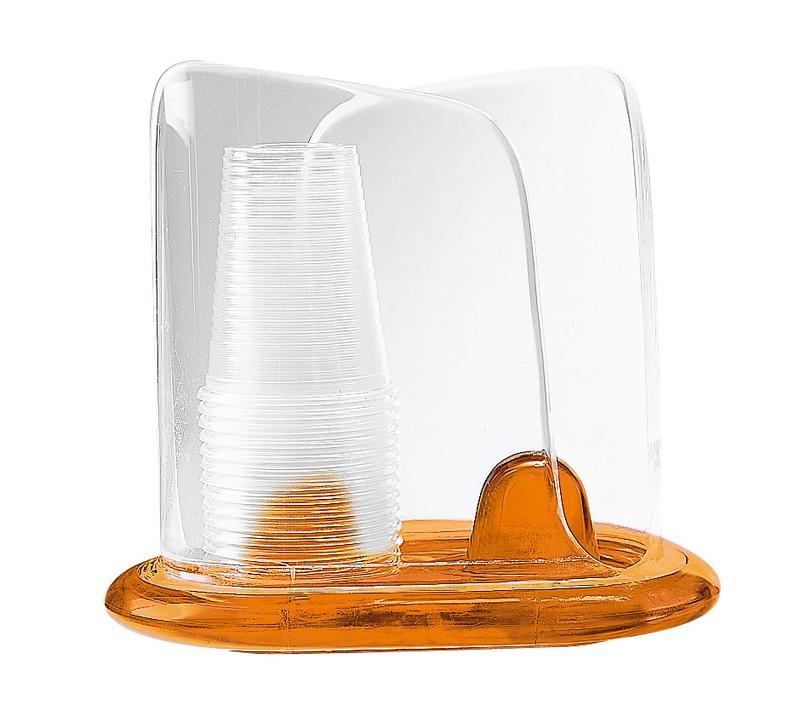[TKG16-0871] グッチーニ ペーパーカップディスペンサー  2371.0045オレンジ