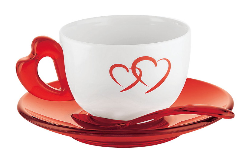 [TKG16-2152] グッチーニ ティー/コーヒーカップ 2客セット2677.0065