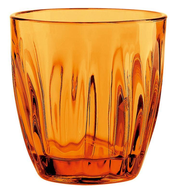 [TKG16-1690] グッチーニ グラス 2496(6ヶ入)300cc オレンジ (2070円/個)