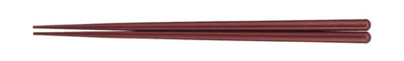 [TKG16-1642] 耐熱箸(50膳入) 23cmエンジ