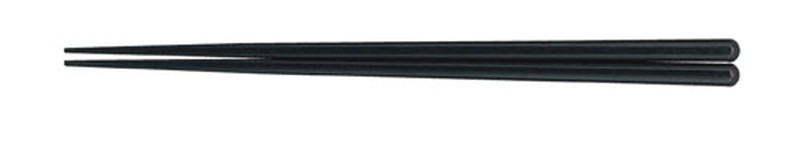 [TKG16-1642] 耐熱箸(50膳入) 23cmブラック