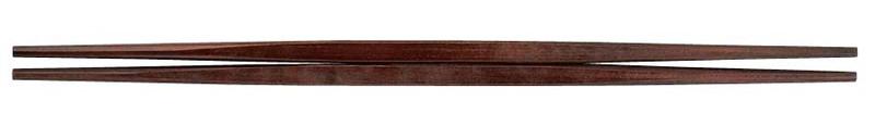 [TKG16-1644] PBT利休箸(10膳入)紫檀塗 90030761