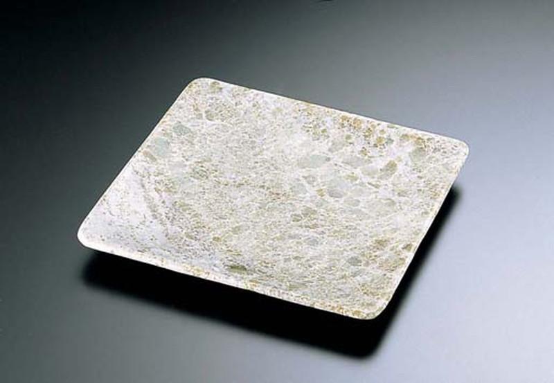 石器 正角皿 YSSJ-014 30cm 7-2030-0504 石器(皿) (TKG17-2030)