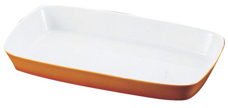 [TKG16-2081] シェーンバルド 角グラタン皿 茶 1011-33B