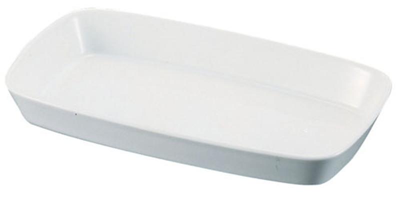 [TKG16-2083] シェーンバルド 角グラタン皿 白 1011-39W