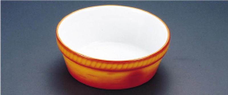 SCHONWALD シェーンバルド 丸オーブンディッシュ 茶 3011-24B 7-2195-0906 洋食器 (TKG17-2195)