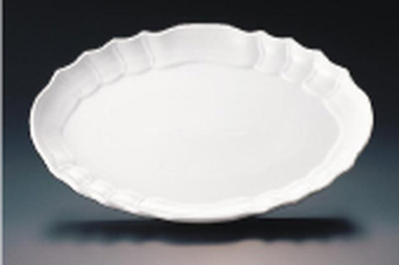 [TKG16-2087] ロイヤル オーブンウェアー小判皿バロッコ 48cmPG860-48