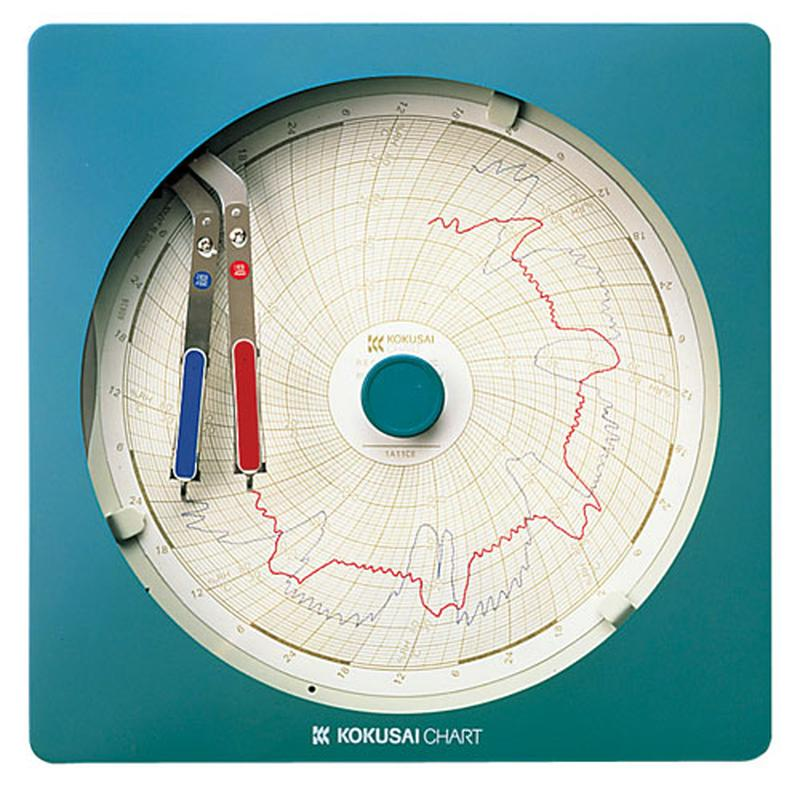 [TKG16-0559] 温湿度記録計 温湿きろく君 KC10-WD1日用